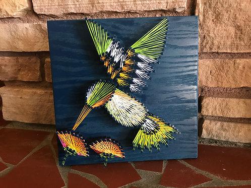 Hummingbird String Art (Small)