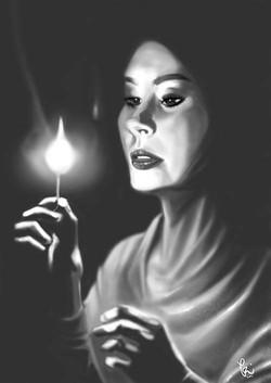 PORTRAIT PAINTING-Noor (Light)