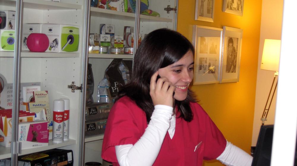 Ana Serra, Enfermeira Veterinária