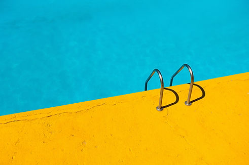 Yellow and Blue Pool