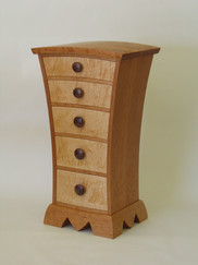 Calvin's Dresser II.  Cherry and Spalted