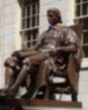 John_Harvard_statue_at_Harvard_Universit