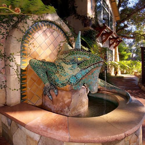 the blue and emerald iguanas