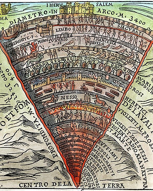 Dante's Inferno - Oceans and Underworld.
