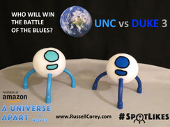 SPOT IS A TAR HEEL -  CHECK OUT #SPOTLIKES ON TWITTER