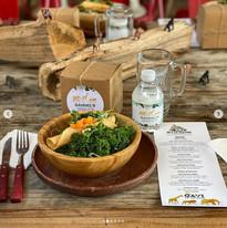 Kale Salad Pastrami Flauta Duet