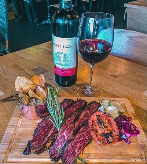 Pastrami & Red Wine