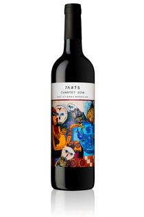 Wine Bottle 7Arts