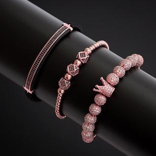 Multiple bracelets (set)