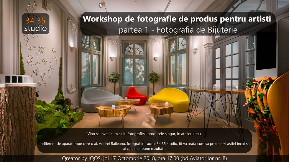 Free Jewellery Photography Workshop - 17.10.2018