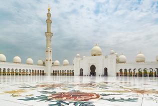 Sheik Zayed Mosque - Abu Dhabi