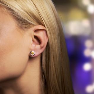 Earings on Model