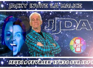La Malice on the TV
