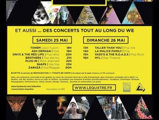 Expo-Concert Dim. 26 mai