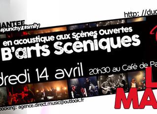 2 concerts parisiens en entrée libre