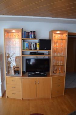Wohnzimmermöbel, Buche furniert