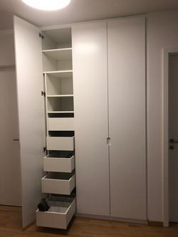 Inneneinteilung Garderobe