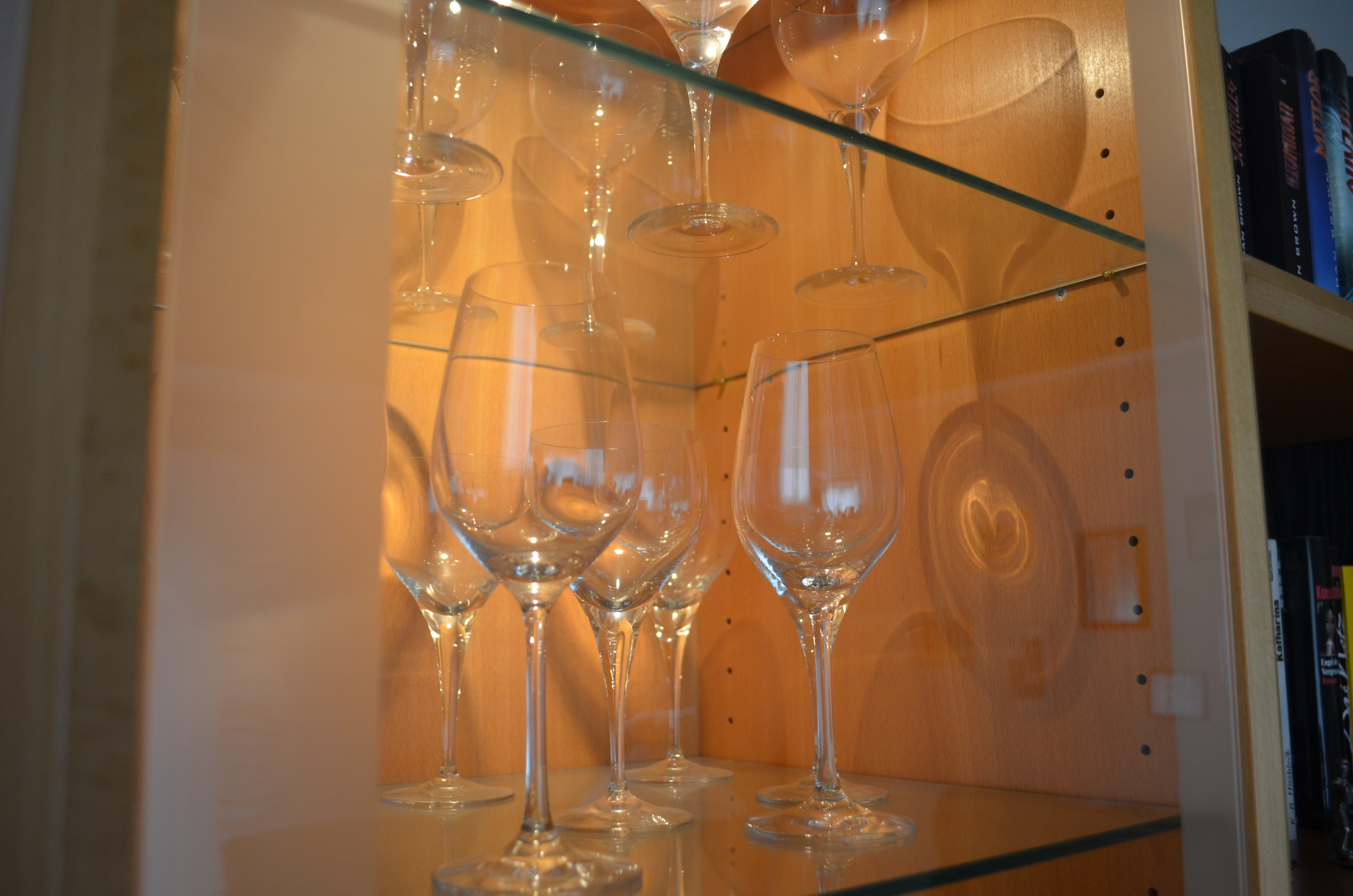 Detail Gläseraufbewahrung