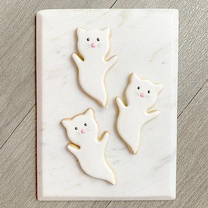 Spooky Cat cookies