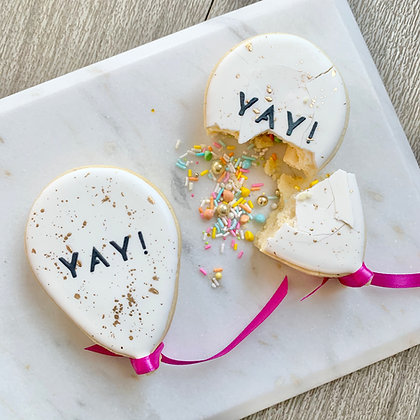 Confetti Cookie: Balloon (1pc)
