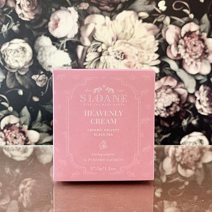 Sloane Tea Sachet Box (Heavenly Cream)