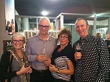 Peter & Maureen Dunn + Gaida & John Smit
