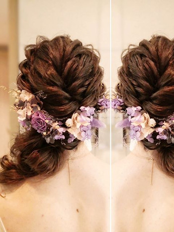 .jpe_2nd Bridal change of hairdo ❤️_For