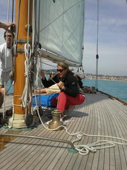 Skipper sur l'australis