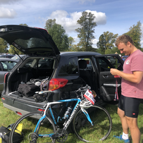 Getting ready for our first triathlon