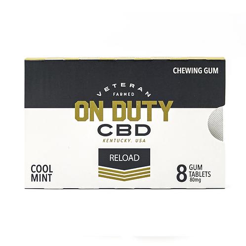 THC FREE CBD RELOAD GUM SINGLE PACK