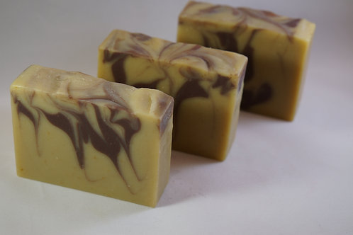 420 CALIBER Luxury Goat Milk Soap - Lavender/Rose Clay