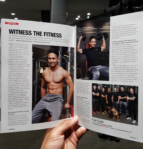 iFitness Magazine Feature
