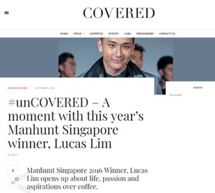 Covered Asia - Manhunt Winner Feature