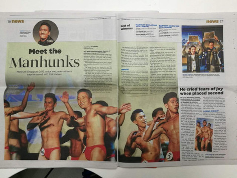 The Straits Times Manhunt 2016 Winner Feature