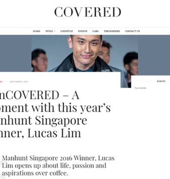 Covered Asia - Manhunt Winner Feature