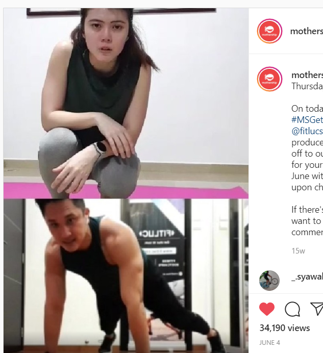 Mothership SG Feature - IG LIVE with FITLUC