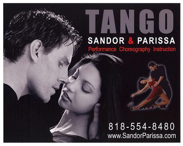Sandor & Parissa Argentine Tango