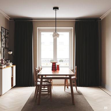 Architecture Visualisation 1 : Apartment Interior / Entrancemakleri Sweden