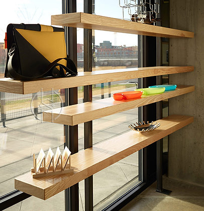 Cantilevered Shelves