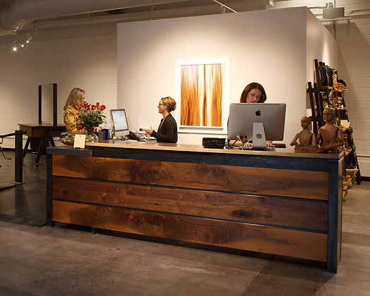 Hair Salon Reception & Work Stations