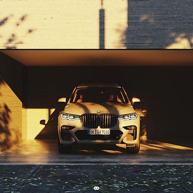 Automotive Design 1 : Full Architecture & Automotive Visualisation BMW X7