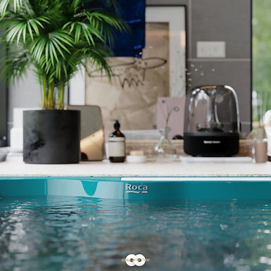 Architecture Visualisation 6 : Luxury Bathroom Birmingham England