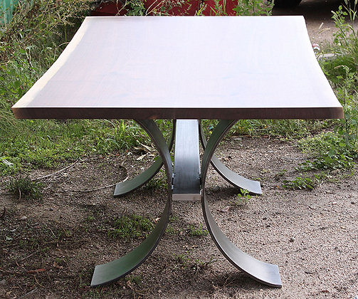 Curved Base Breakfast Table