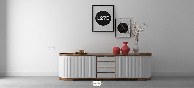 Furniture Design & Rendering