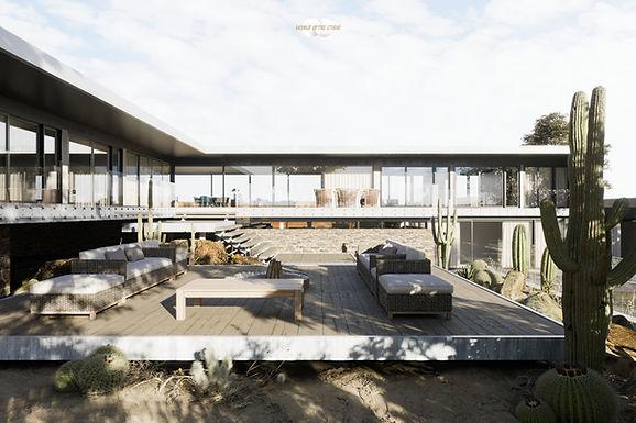 Architecture Visualisation 3 : Moat's Corner House / Vibe Design Group
