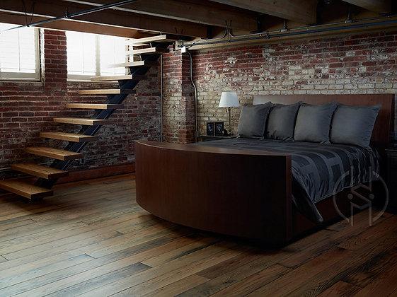 Hidden TV Bed