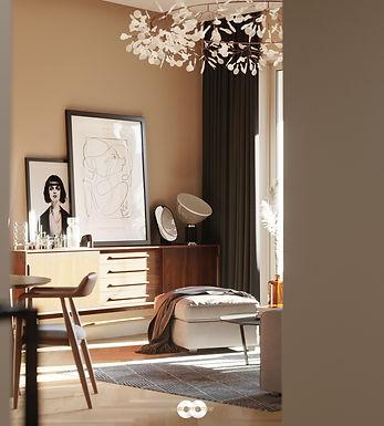 Apartment Interior Visualisation 3 : Apartment in Novopeschanaya (Moscow Russia)/ Aiya Design