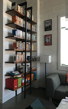 Folding Ladder Bookshelf
