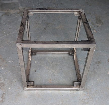 Steel Stacking Cubes