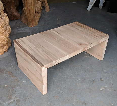 Nesting Ambrosia Maple and Walnut Coffee Tables